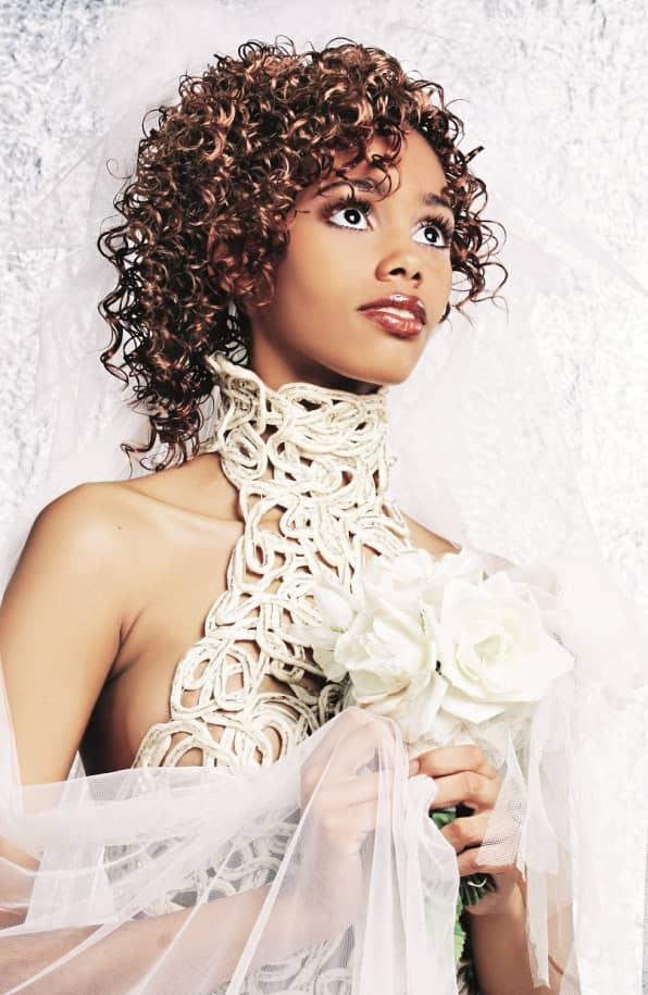 модель афро свадебное платье