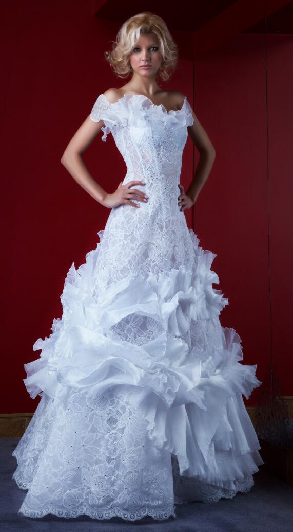 свадебное платье 444