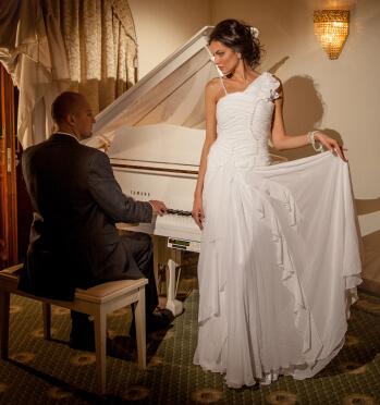 невеста свадебное платье
