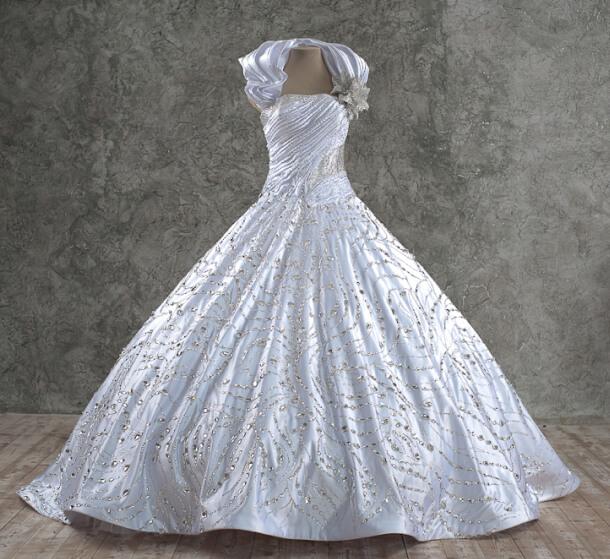 свадебное платье стразы swarovski сергей пугачёв