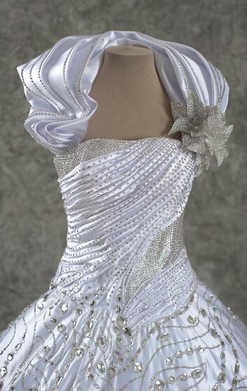свадебное платье украшение стразы swarovski