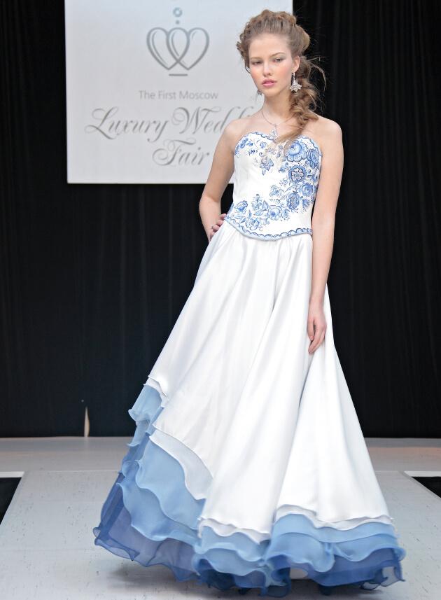 свадебное платье Саша Лусс Sasha Luss