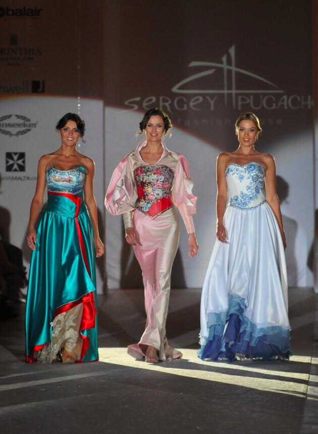 свадебное платье дизайнер Сергей Пугачёв 35