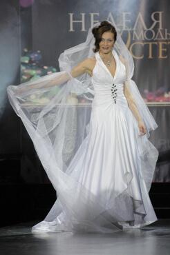 свадебное платье дизайнер Сергей Пугачёв 14