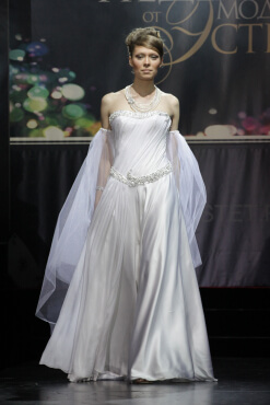 свадебное платье дизайнер Сергей Пугачёв 11
