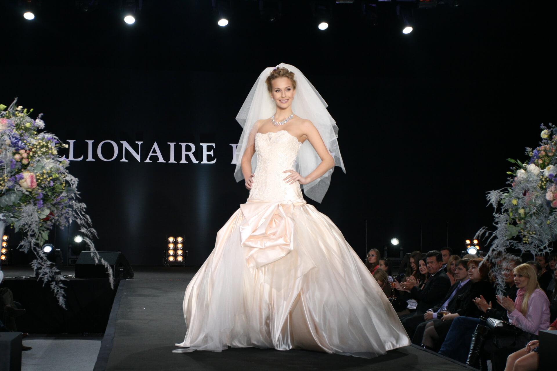 свадебное платье дизайнер Сергей Пугачёв 21