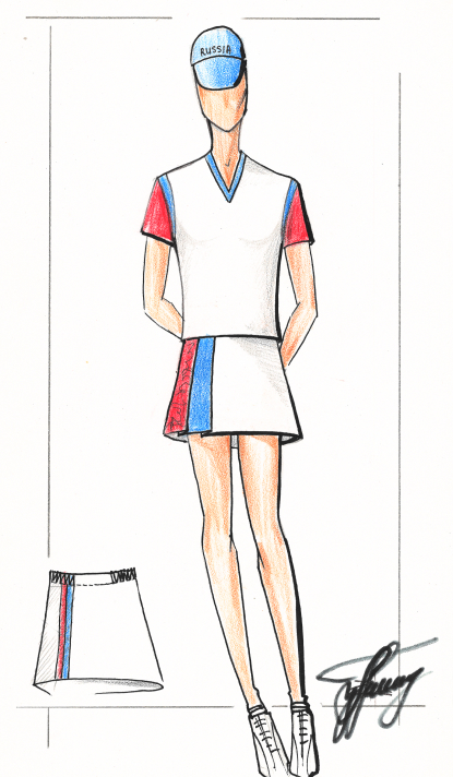 спортивный костюм эскиз 1